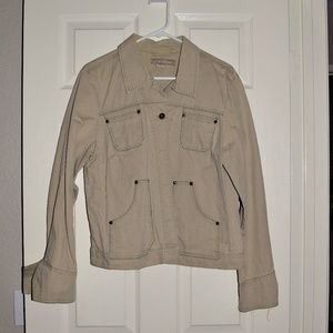 Jeanstar Tan Jacket No Size but Fits Like Large